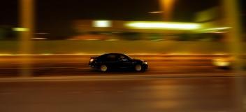Скорость машина ночь туннель