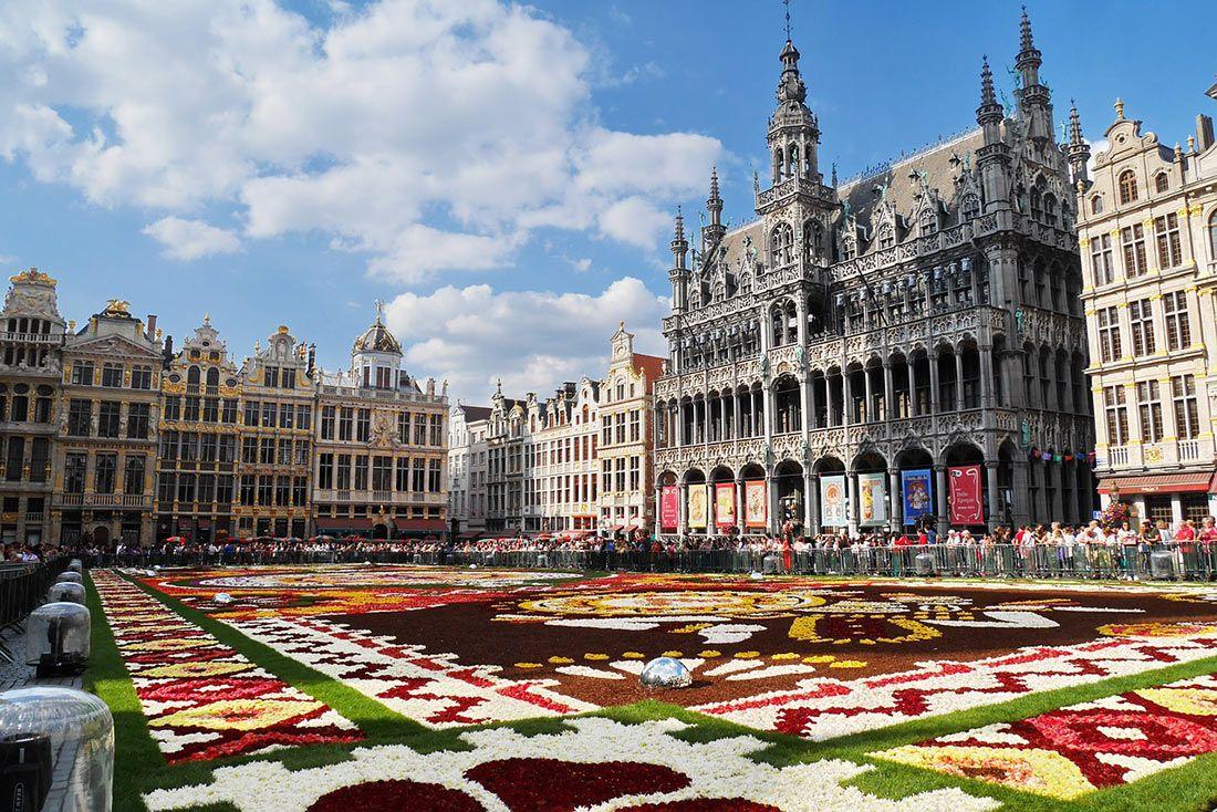 Туристическая страховка в Бельгию
