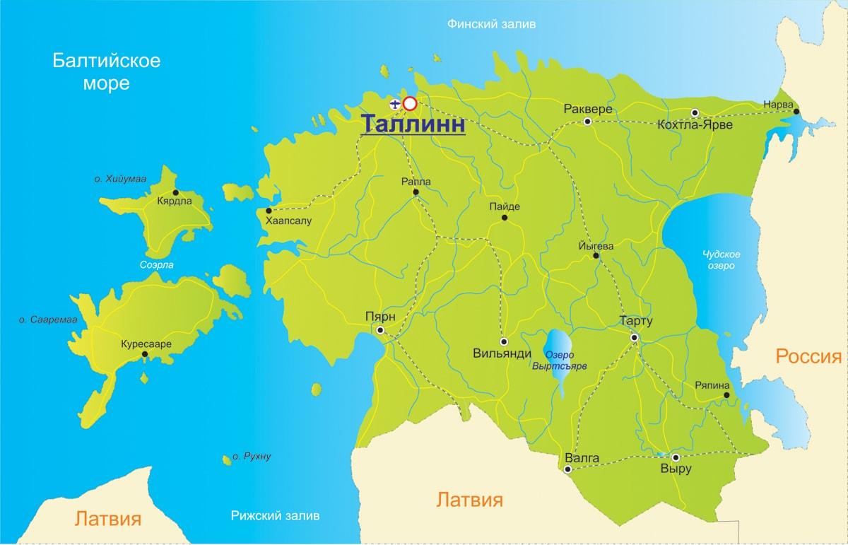 Зелена карта в Естонію